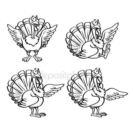 450x450 Turkey With Ax Cartoon Mascot Character Stock Photo Hittoon