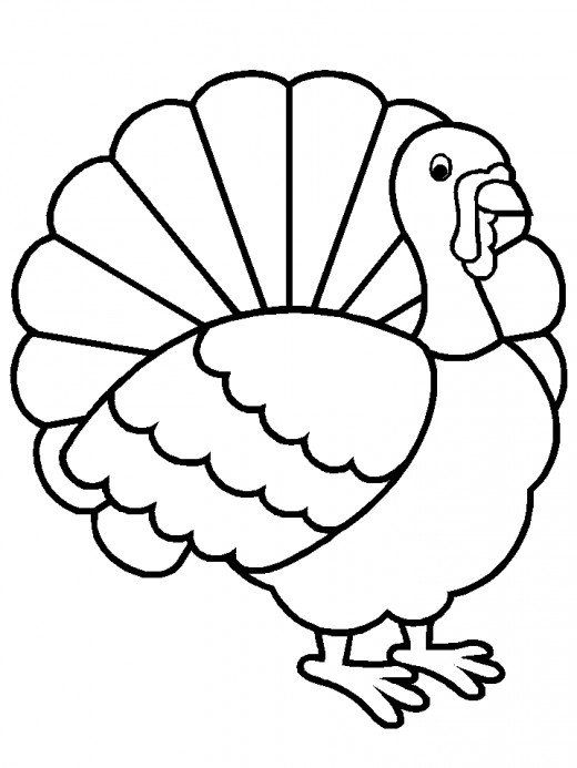 520x693 34 Best Turkey Images On Coloring Pages, Turkey