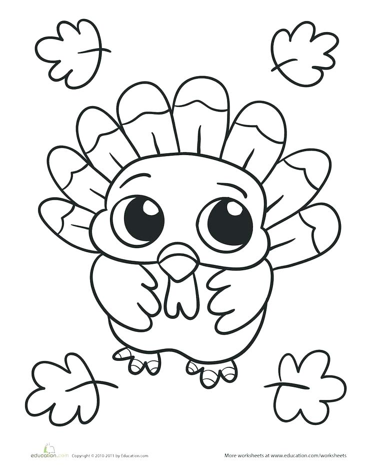 736x941 Turkey Coloring Pages Free Turkey Coloring Pages Easy Turkey