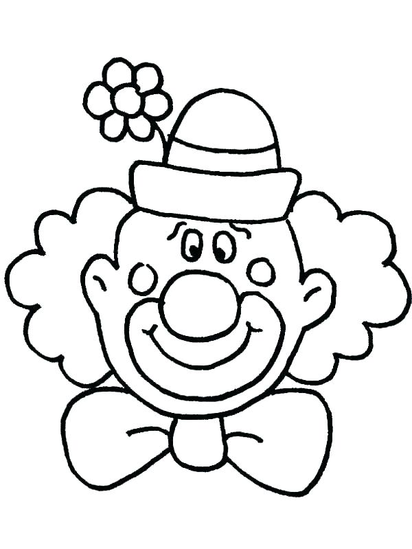600x799 Head Coloring Page Carnival Of The Animals Coloring Pages Carnival