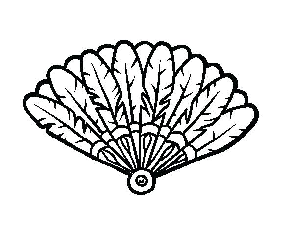 600x470 Feather Coloring Page Printable Turkey Feather Coloring Pages