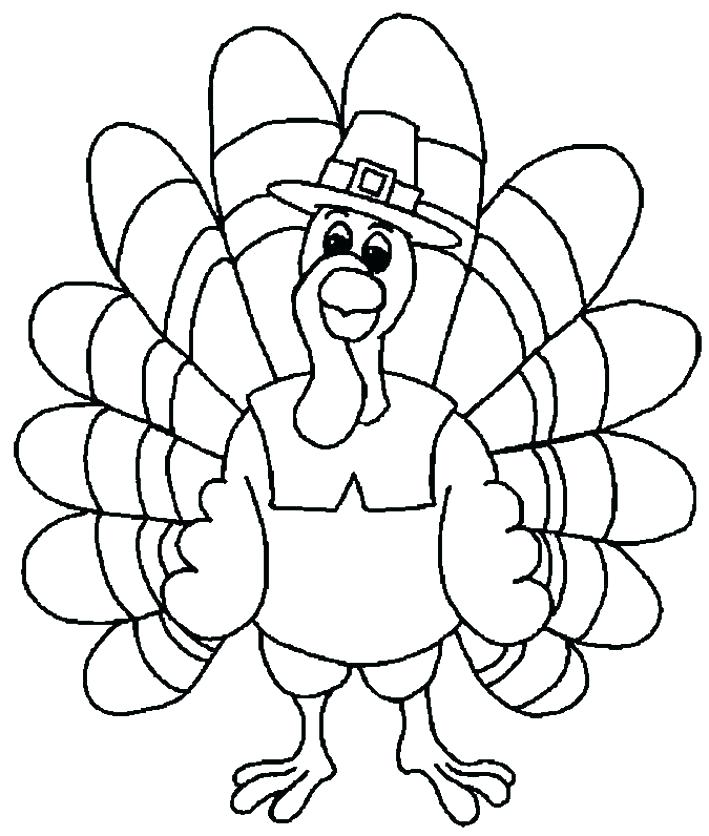 709x836 Coloring Page Of A Turkey Feather Coloring Page Turkey Feather