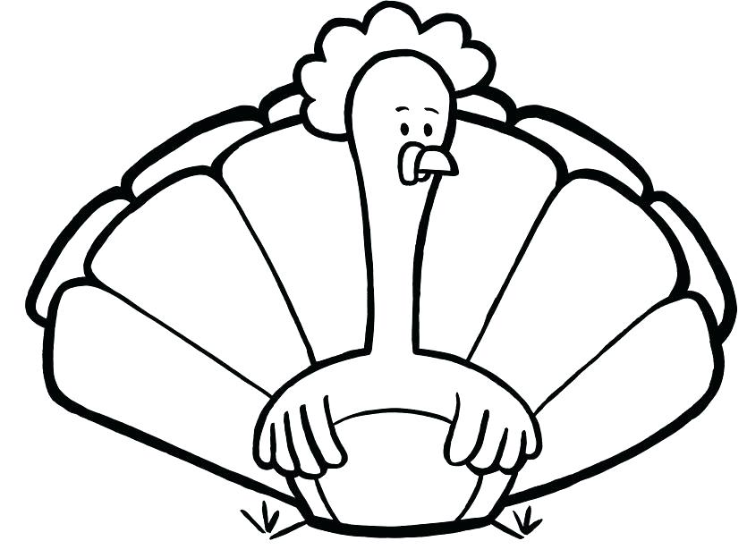 835x624 Fresh Feather Coloring Page And Turkey Coloring Pages Free