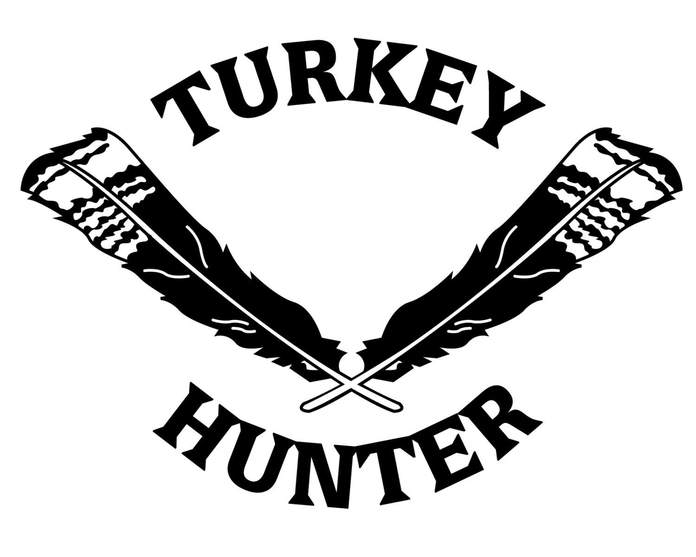 1500x1200 Turkey Hunting Vinyl Decal Turkey Hunter Sticker Turkey