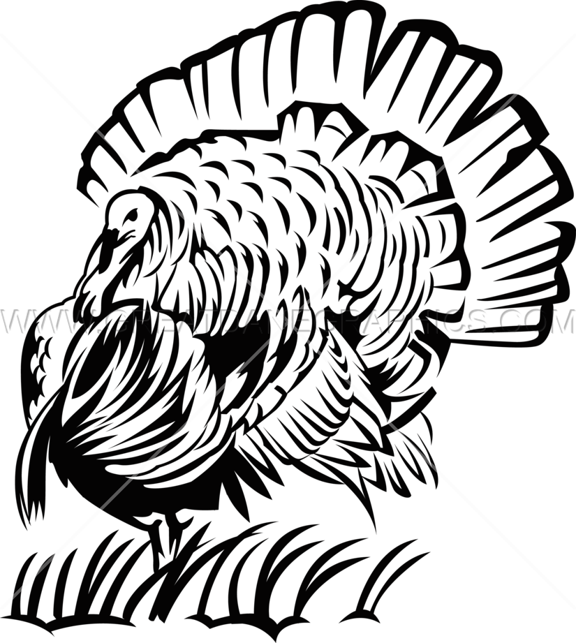 825x921 Big Turkey Production Ready Artwork For T Shirt Printing