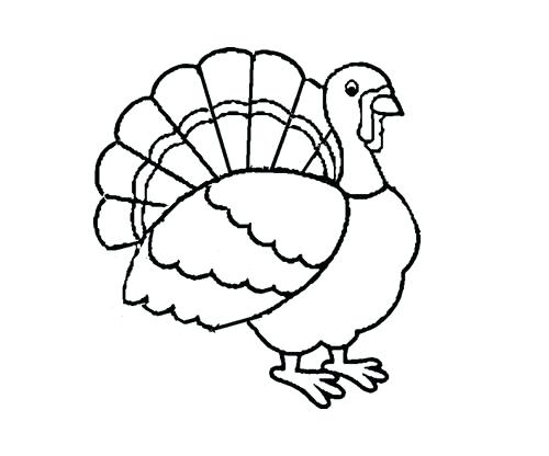 500x416 Coloring Pages Turkey Turkey Coloring Pages Coloring Page Turkey