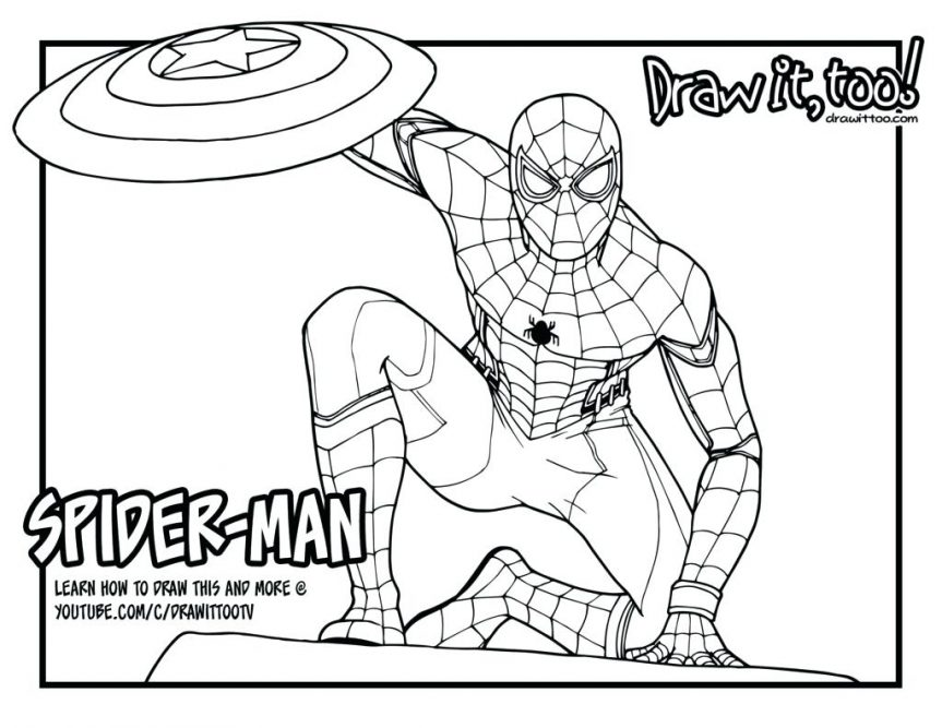 863x667 Spider Man Homecoming Vulture Coloring Pages Free King Turkey Page