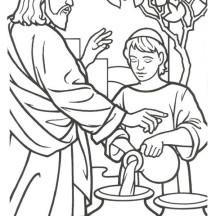Turn A Photo Into Coloring Page 2 Interesting 216x216 Miracles Of Jesus Netart