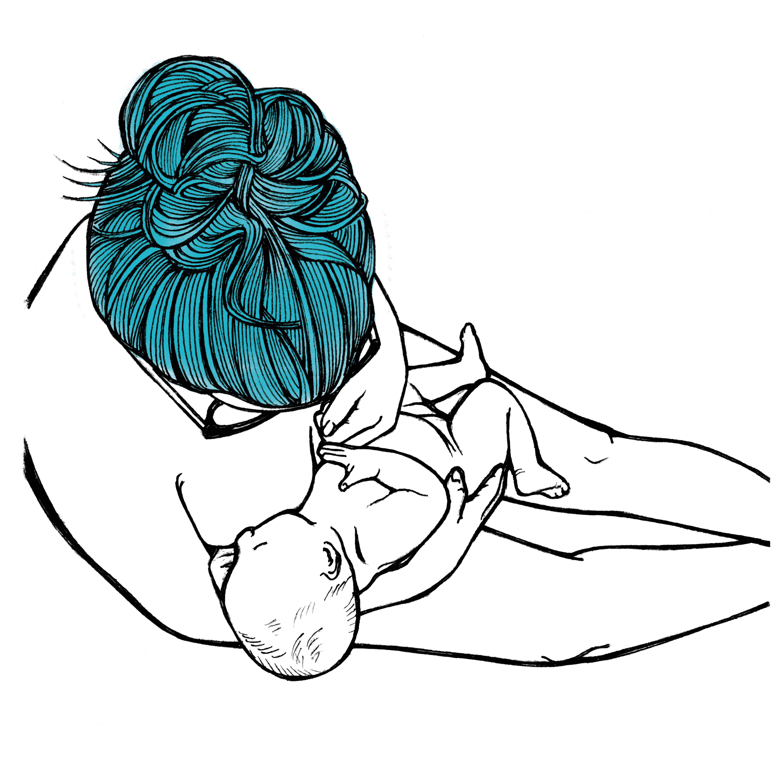 6000x6000 Katie Breastfeeding Art Print