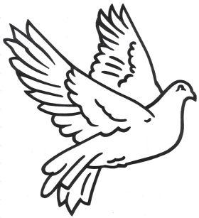 280x307 Drawings Of Dove Clipart