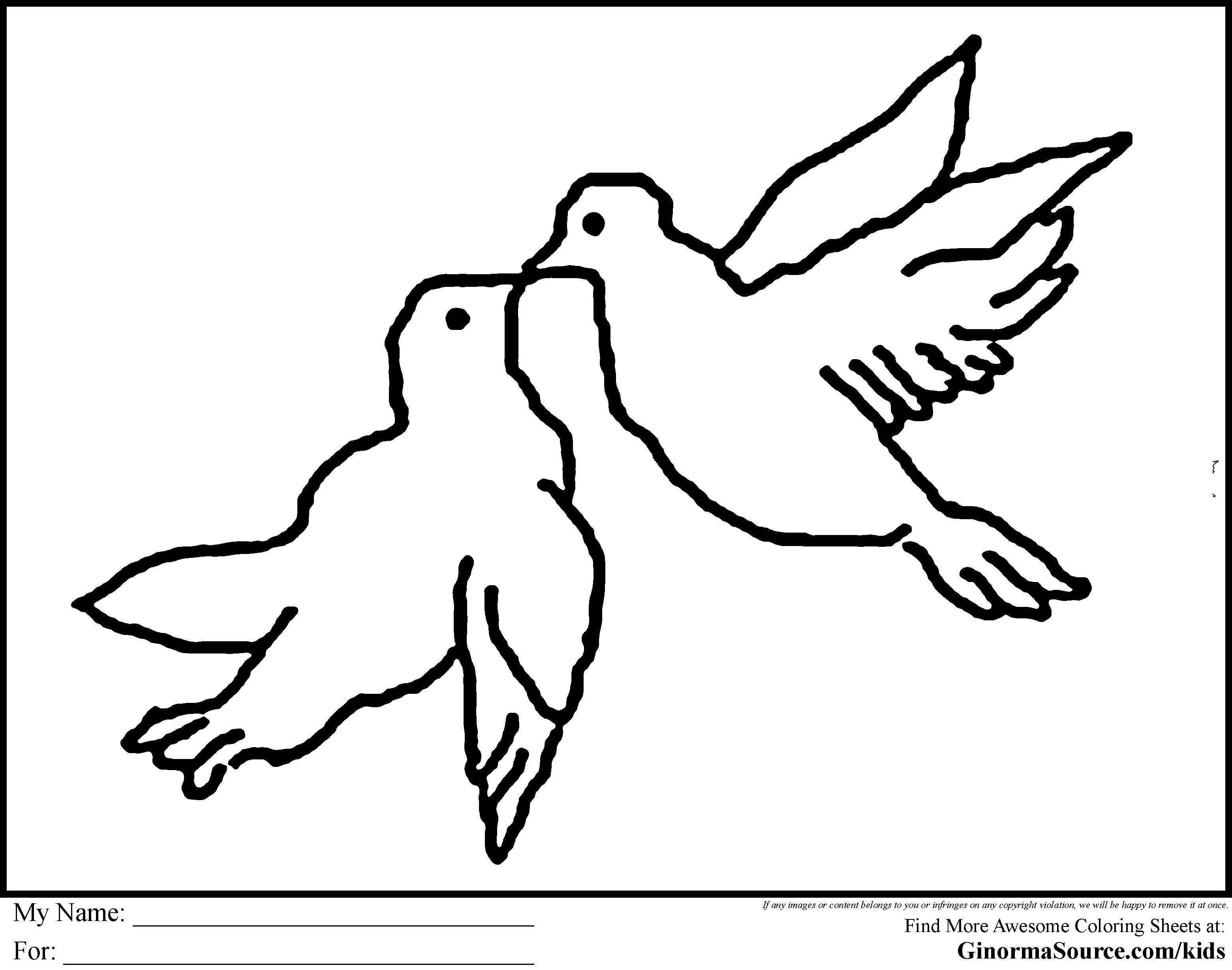 Turtle Doves Drawing at GetDrawings.com | Free for personal use ...