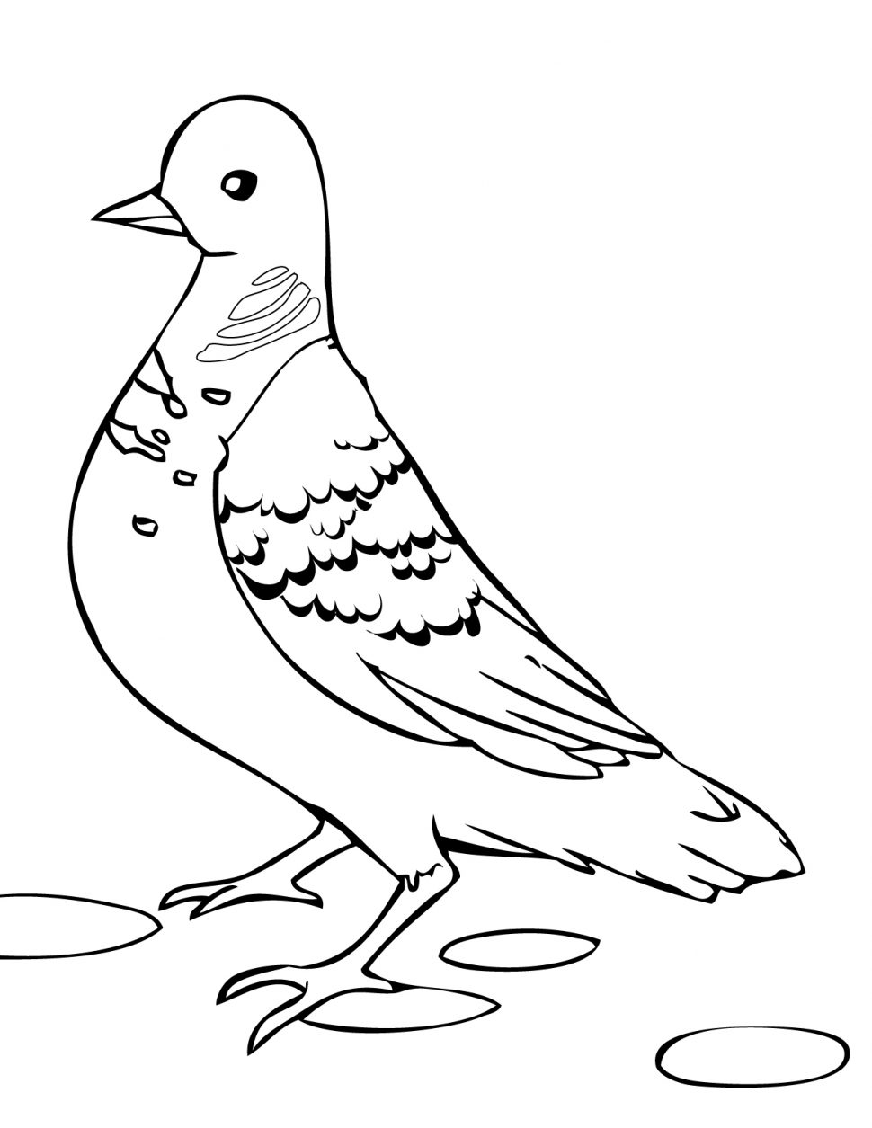 970x1255 Coloring Pages Doves Coloring Pages Turtle Dove Ink Doves