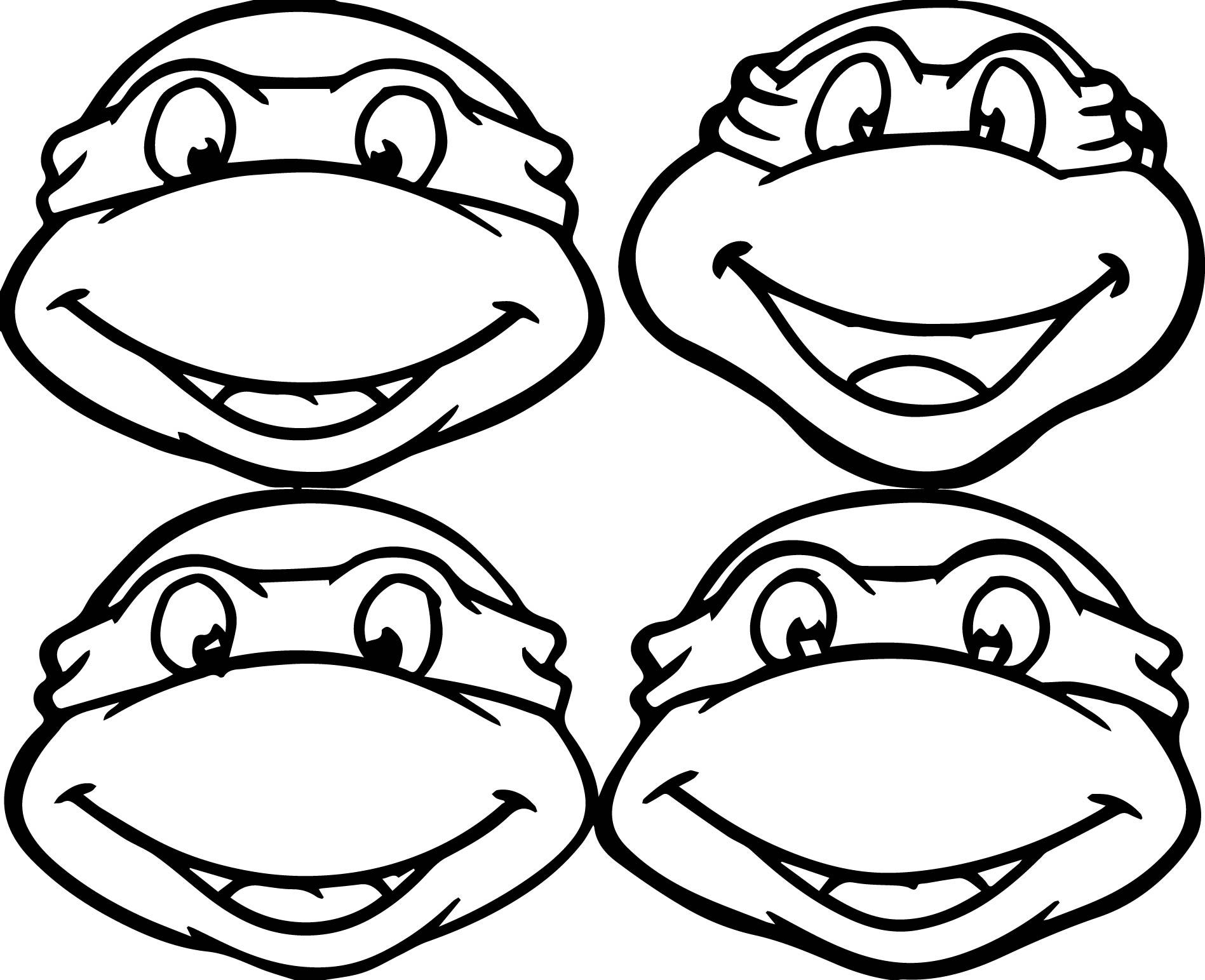 1897x1543 Ninja Turtle Color Pages Free Printable Free Coloring Book Picture