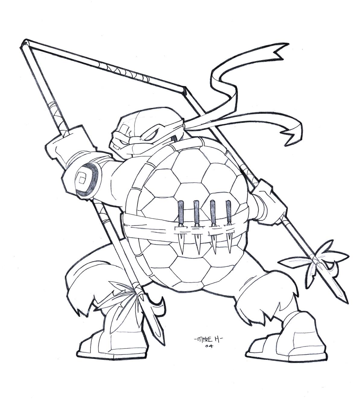 Gemütlich Crayola Riesigen Malvorlagen Teenage Mutant Ninja Turtles ...