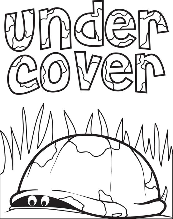 555x700 Free, Printable Turtle Hiding In Its' Shell Coloring Page For Kids