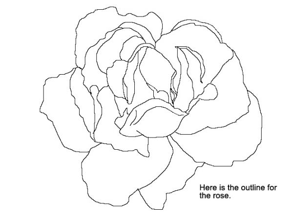 600x449 How To Make A Digital Painting Of A Rose From Scratch