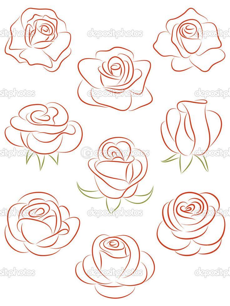 736x981 Gallery Rose Drawing Tutorial,