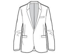 Tuxedo Drawing