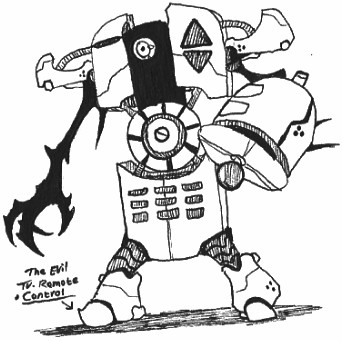 342x341 Rq] The Evil Tv Remote Control By Kainsword Kaijin