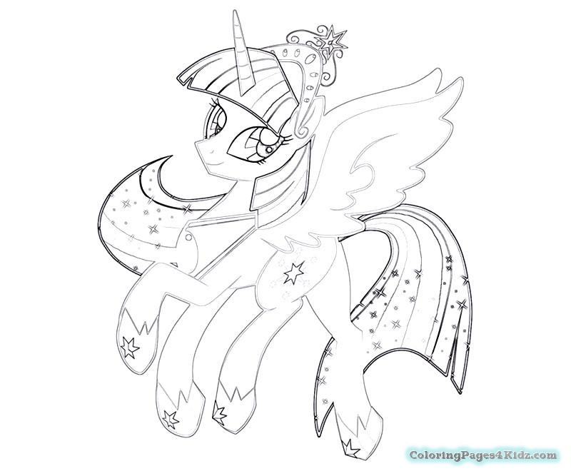 800x667 My Little Pony Twilight Sparkle And Flash Sentry Coloring Pages