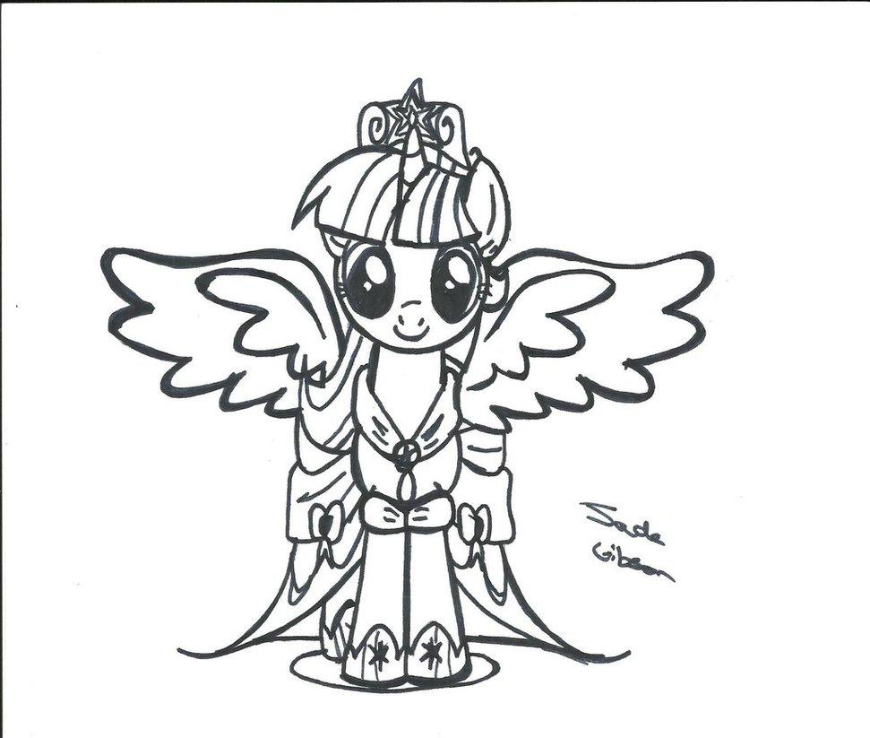 971x823 Alicorn Princess Twilight Sparkle By Celestialbolt