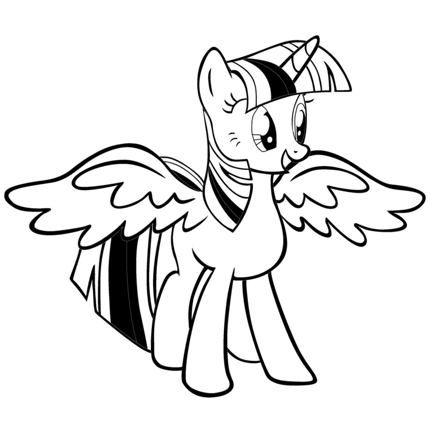 Twilight Sparkle Drawing at GetDrawings.com | Free for personal use ...