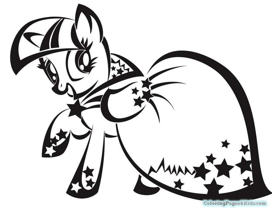 900x701 Fancy My Little Pony Coloring Pages Twilight Sparkle 91 About