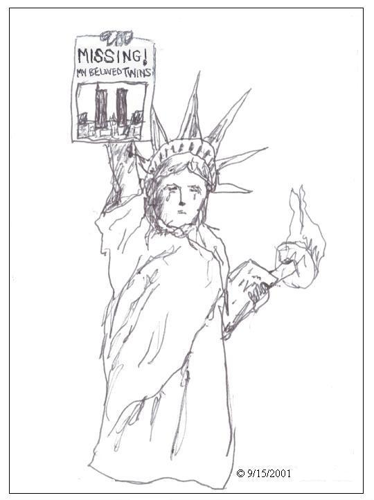540x722 A Drawing I Did Right After The Tragic Events Of 911. I Remember