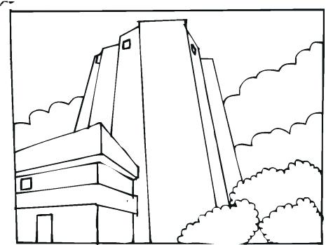 Twin Towers Drawing at GetDrawings