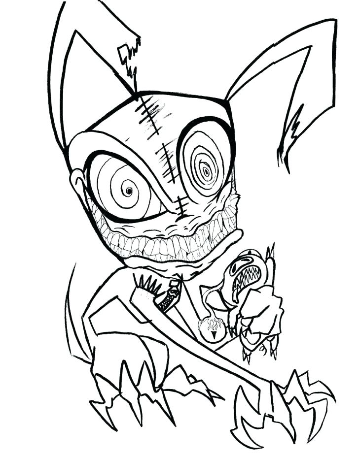 728x926 Scary Clown Coloring Page Girl Clown Coloring Pages Scary Clown