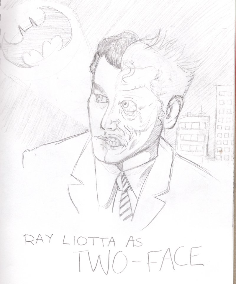 800x961 Ray Liotta As Two Face By T Rexsusan