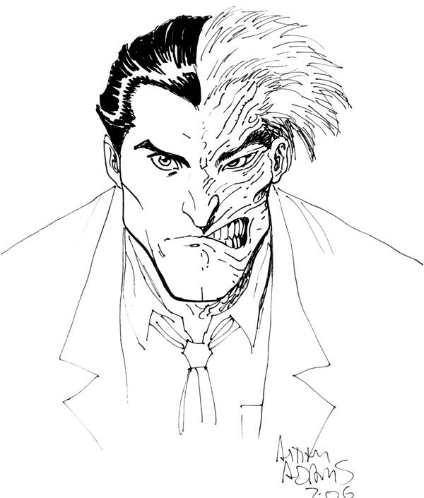 600x705 16 Best Two Face Pro Sketches And Commissioned Art Images