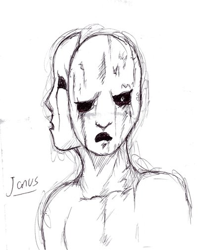 400x505 Two Face Janus Picture, Two Face Janus Image