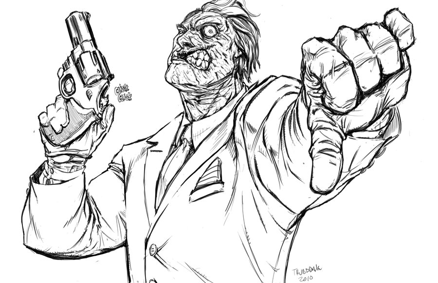 900x582 Two Face By Drkwtr1