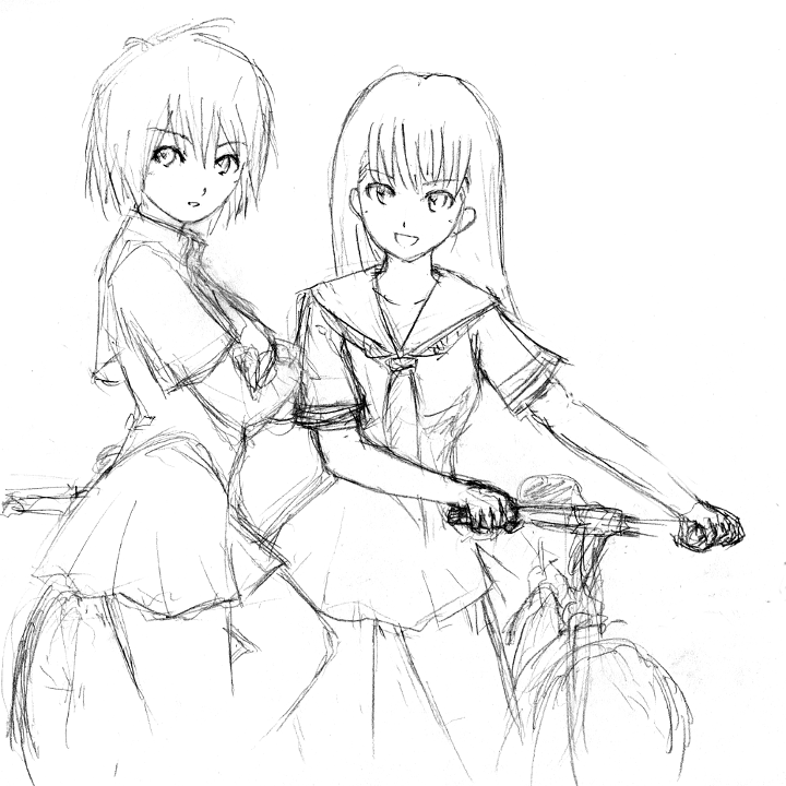 720x720 Mtb Two Girls By Bb Penaz