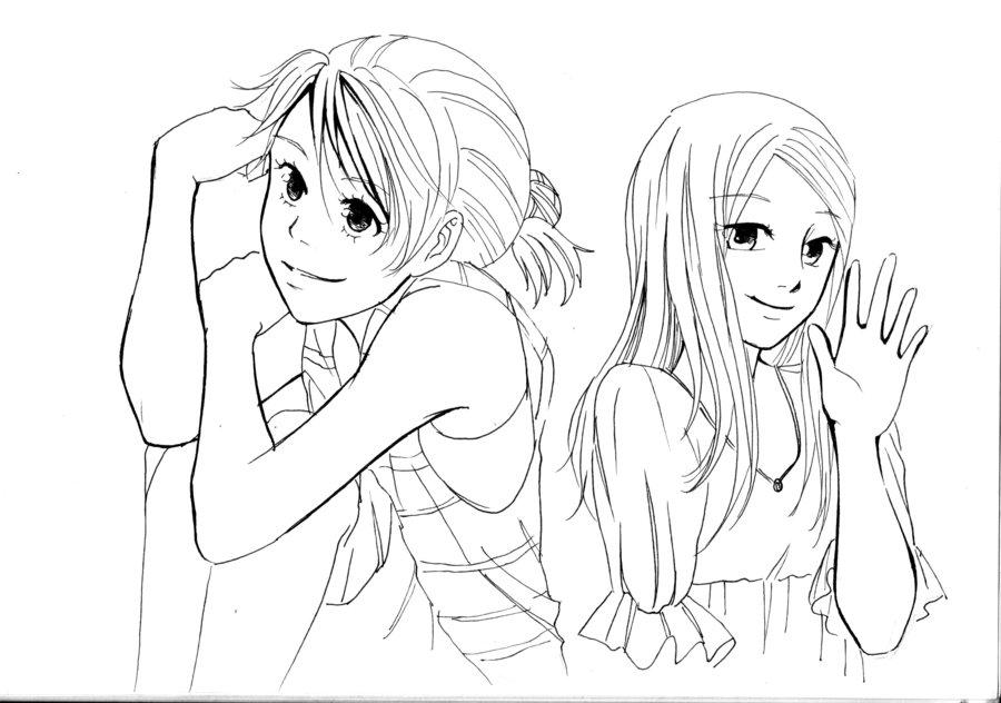 900x632 Two Pretty Girls By Sakuraworld93