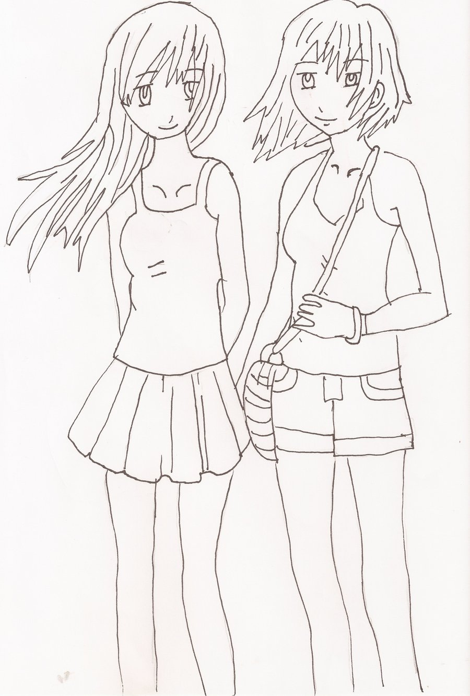 900x1332 Easy Best Friend Drawings Www Daf Drawings