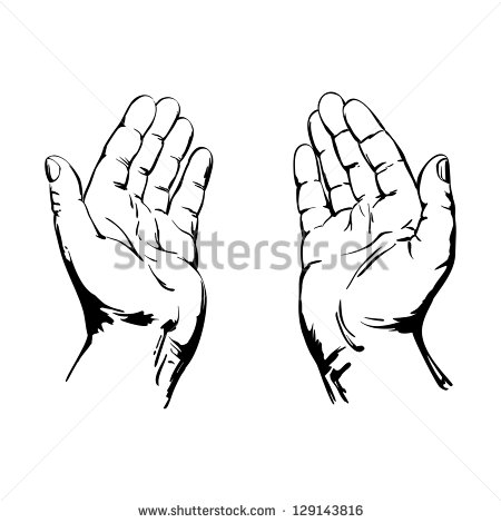 450x470 Pictures How To Draw Gods Hands,