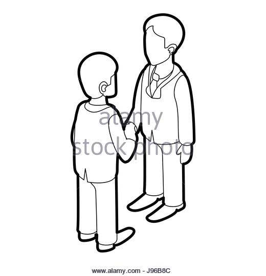 520x540 Shaking Hands Icon Cut Out Stock Images Amp Pictures