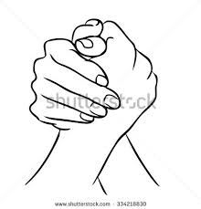 220x229 Vector Clipart Of Holding Hands
