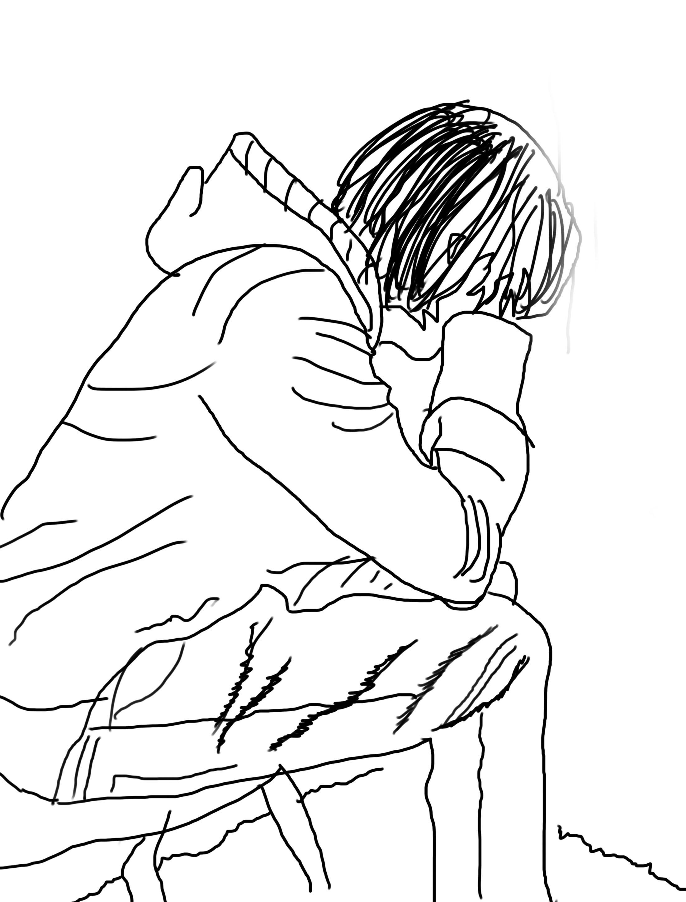 2203x2895 Figure Drawing Journal, Week 2 James Wrobel Art