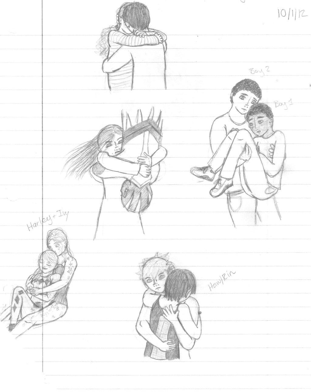 1024x1290 Sketch Dump Pose Studies By Dumpling14