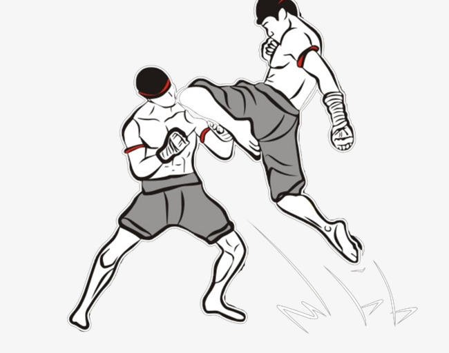 650x512 Muay Thai Picture, Muay Thai, Fight, Two People Png Image For Free