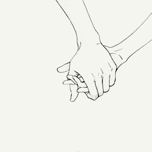 500x500 Photos Holding Hands Drawing,
