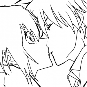 300x300 Anime Kiss Drawings In Pencil Hd Gallery How To Sketch An Anime