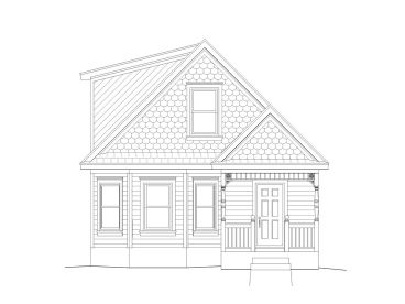 368x276 Two Story House Plans 3 Bedroom, 2 Bath Two Story Home