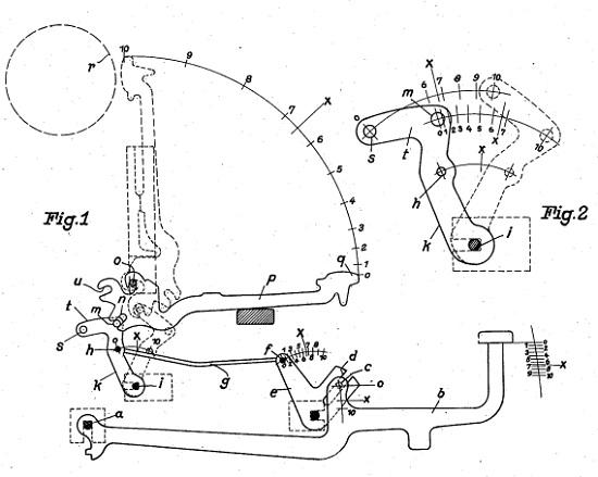 550x439 Davis Typewriter Works Adler 1938 Standard
