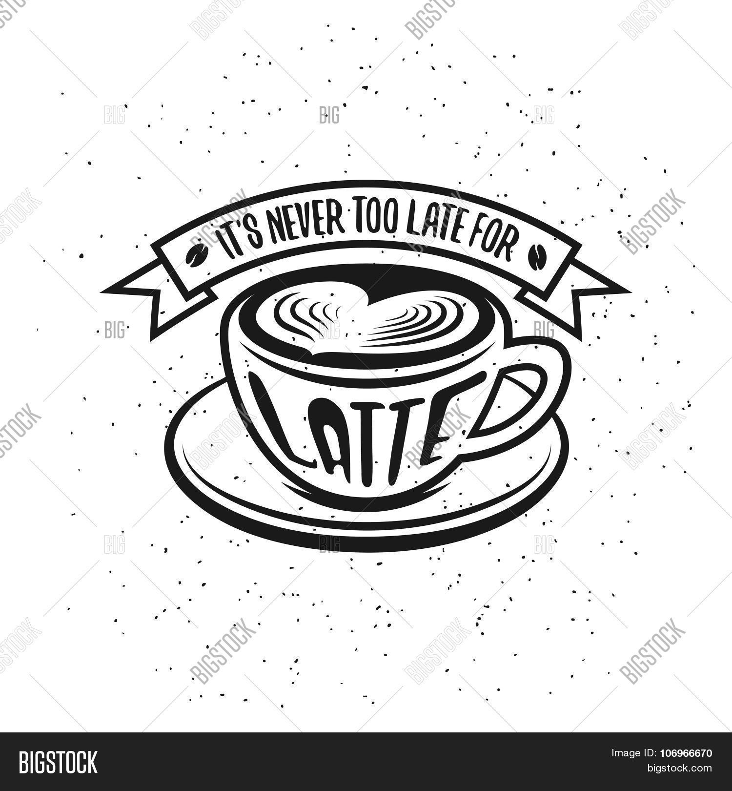 1500x1620 Hand Drawn Typography Coffee Vector Amp Photo Bigstock