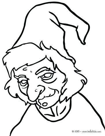 364x470 Witch Coloring Pictures Witch Witch Coloring Pages Preschool