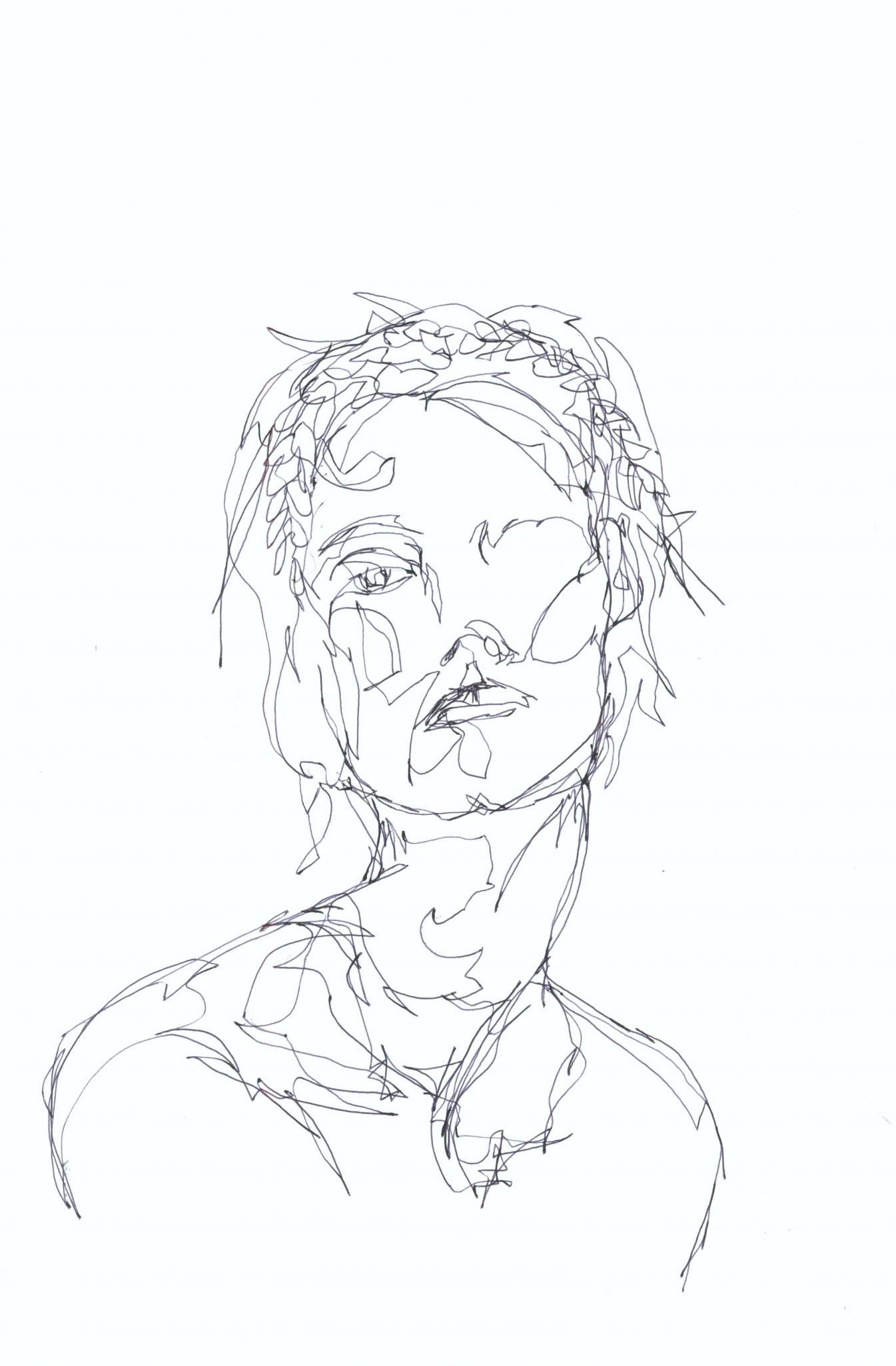 1345x2050 Line Drawing Ii The Original Online Art Gallery